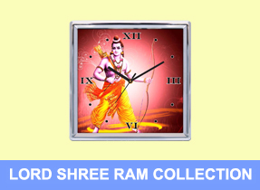 Lord Krishna Wall Clocks